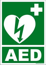 AED-foto aanwezig in deze huisartsenpraktijk in Zaandam