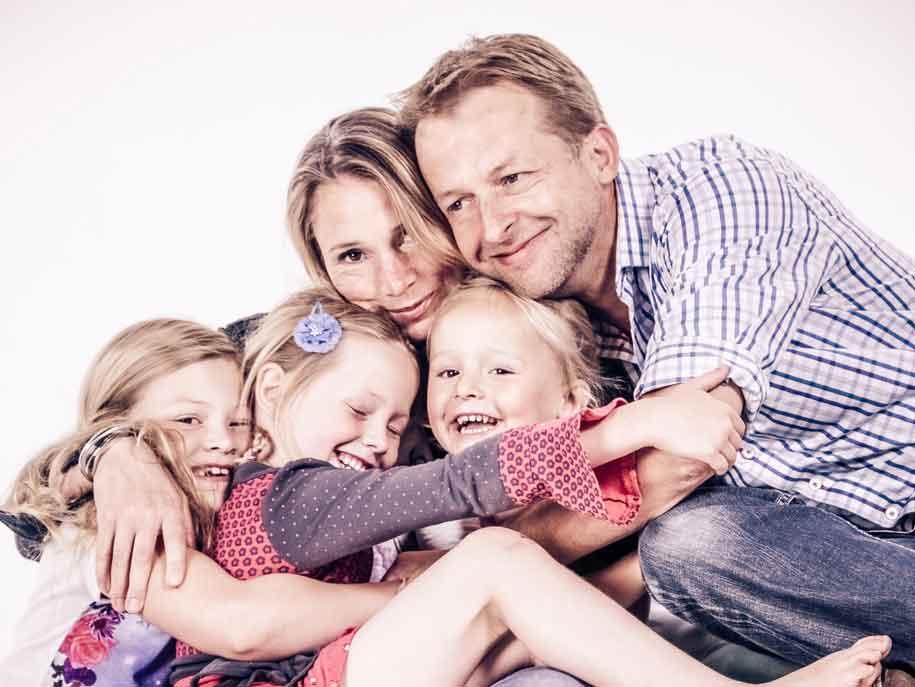 foto gezin van loenen