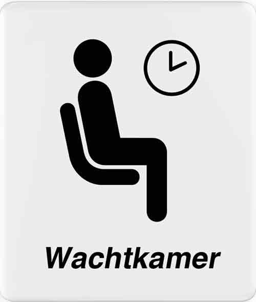 logo van wachtkamer