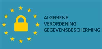 Nieuwe wet AVG logo